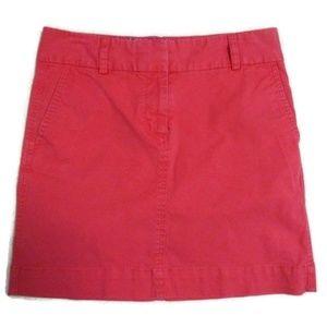 Vineyard Vines Pink Cotton Blend Skirt 4